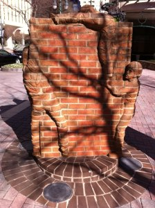 BrickSculpture