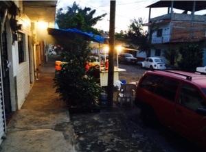 Mexican Street Scene