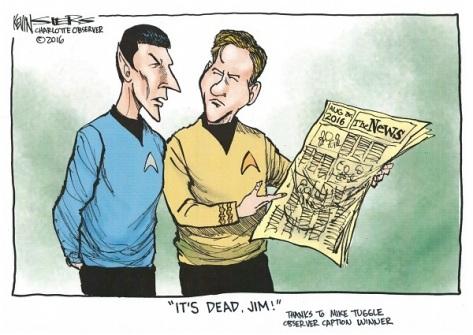 Kevin Siers Cartoon Caption